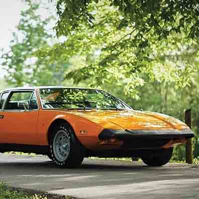 Sotheby's to auction classic Italian sportscar 1974 De Tomaso Pantera L