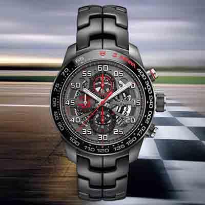 Limited edition Tag Heuer Ayrton Senna Chronograph