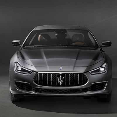 Maserati unveils Ghibli GranLusso