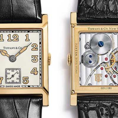 Feast your eyes on the Tiffany Square Watch