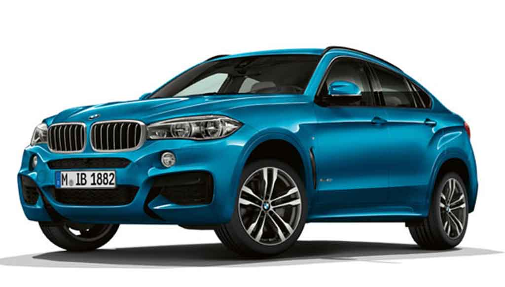 BMW X5 unveils 'Special Edition' & X6 'M Sport Edition'