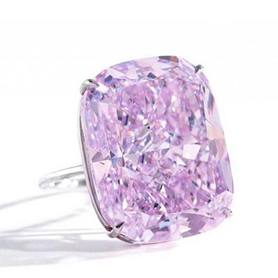 World's largest pink diamond to be auctioned by Sotheby's in Geneva
