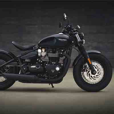 Triumph unveils new Bonneville Bobber Black