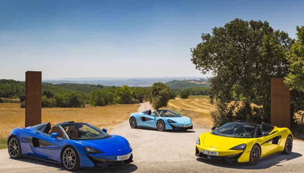 McLaren to make official entry in India soon