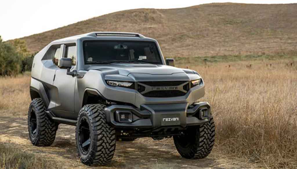 Behold the Military-inspired Tank SUV from Rezvani