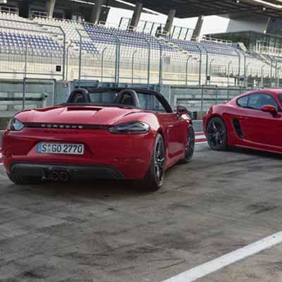 Porsche unveils 718 Cayman GTS & 718 Boxster GTS