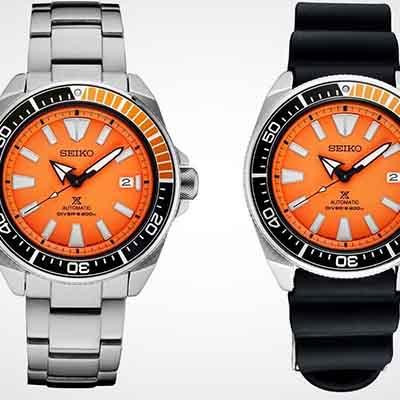 Seiko unveils Prospex 'Orange Samurai' SRPB97 timepiece