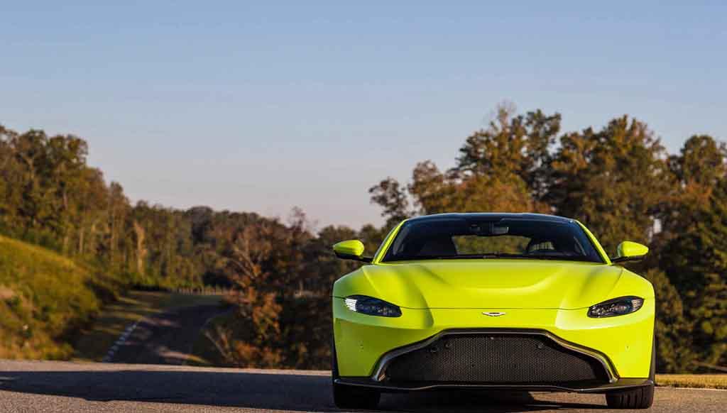 Aston Martin's all new, revved up V8 Vantage