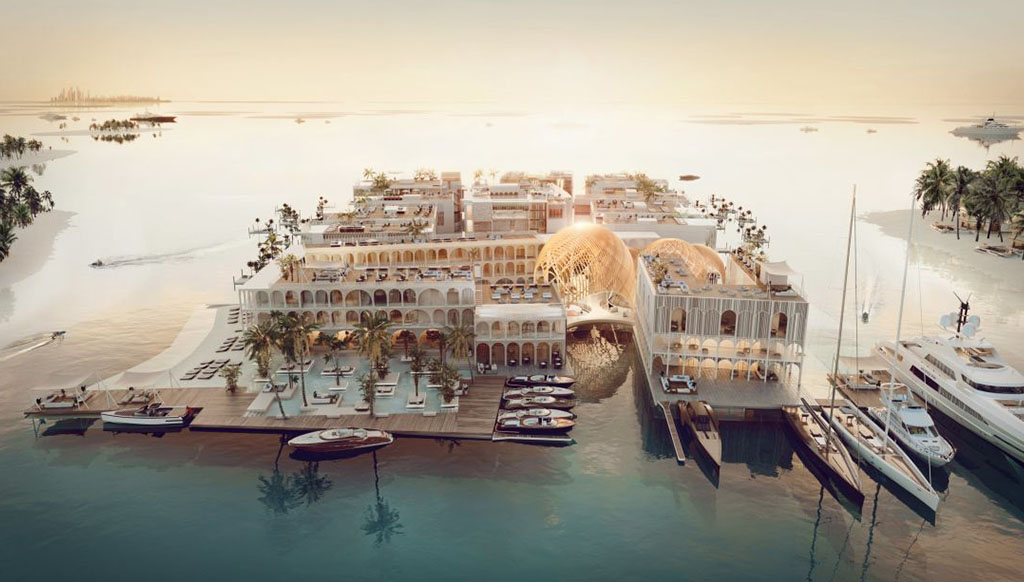 Venetian Fantasy: The Floating Venice