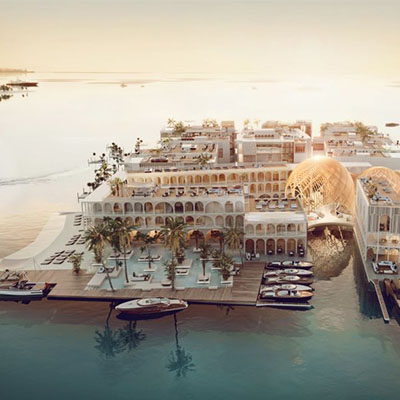 Venetian Fantasy: The Floating Venice