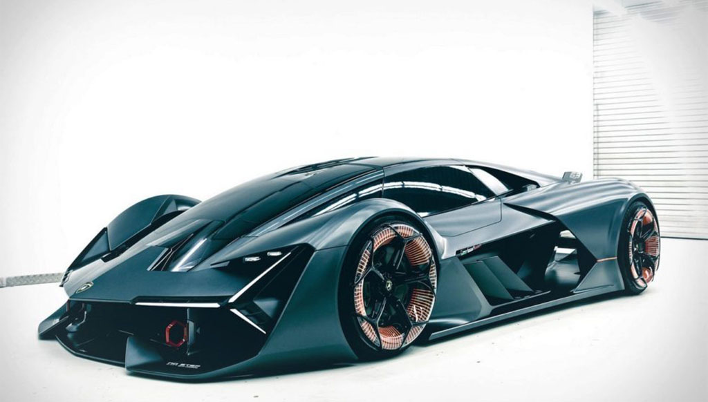 Lamborghini unveils plans for the visionary Terzo Millennio hypercar concept