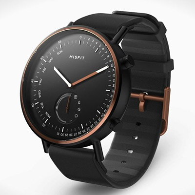 The Misfit Command Hybrid Smartwatch combines elegance with functionality