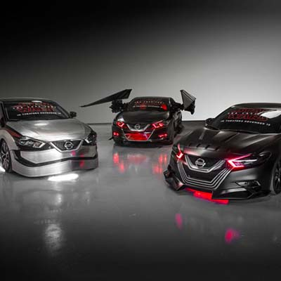 Nissan unveils Star Wars Theme vehicles at LA Auto Show