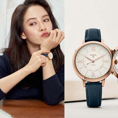 Hybrid smartwatches from Fossil combine classic with modern