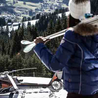 Indulge in Helicopter Ski Safaris at Four Seasons Hotel Megève