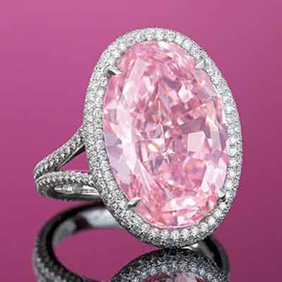 14.93 Carat 'Pink Promise' Diamond auctioned for $32 million at Christie's